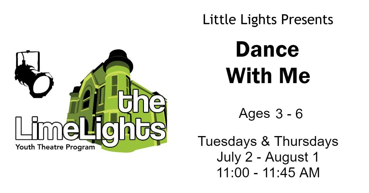 CLICK HERE for more information and registration for Dance With Me