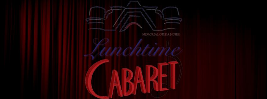 Songs Of Kander & Ebb Lunchtime Cabaret Event Page Banner