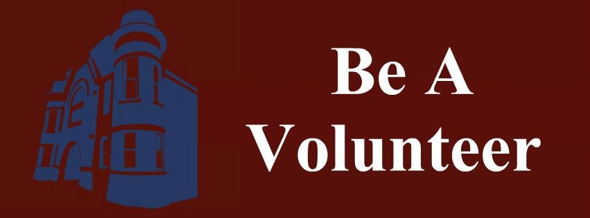 Be A Volunteer Page Banner