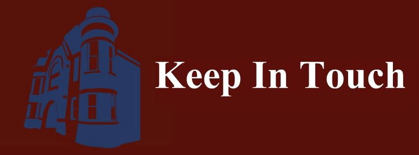 Keep In Touch Page Banner