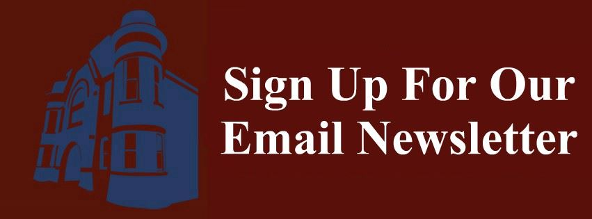 Sign Up For Our Email Newsletter Page Banner