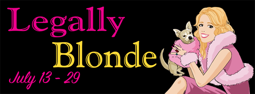 Legally Blonde, The Musical Event Page Banner