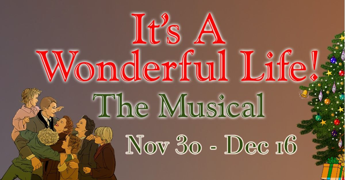It&#39s A Wonderful Life, The Musical Page Banner
